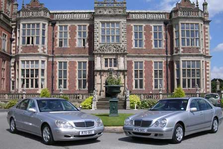 Two of the fleet at Crewe Hall
